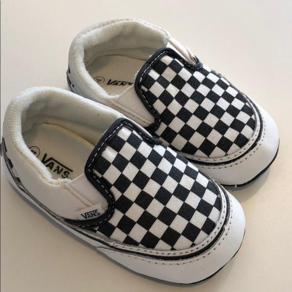 90f71259462211 Vans checkered baby shoes. M 5c76ab4c819e90c8d535d083